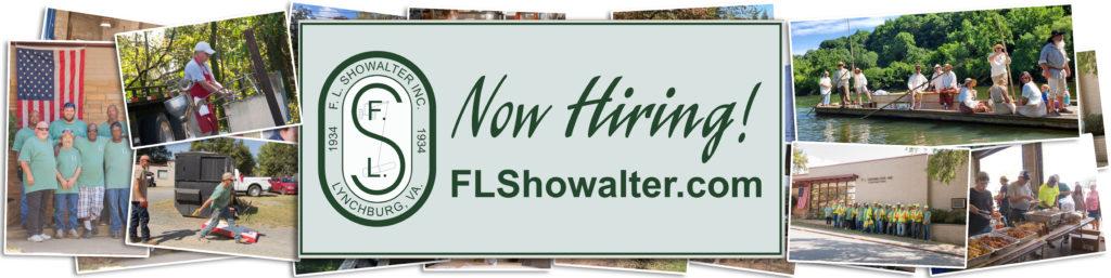 now hiring banner